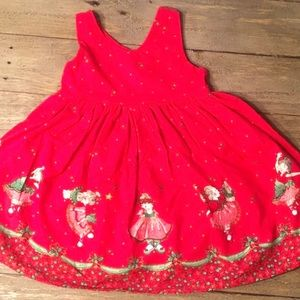 Other - Girl's Handmade Vintage /Holiday Dress/ Ballerinas